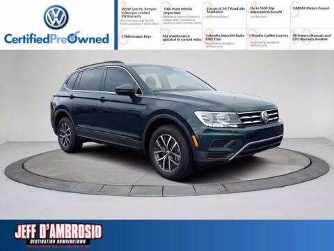 2019 Volkswagen Tiguan for sale at Jeff D'Ambrosio Auto Group in Downingtown PA