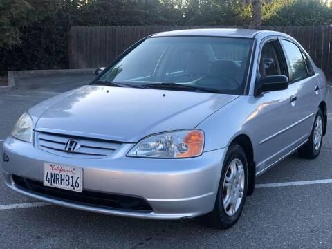 2001 Honda Civic for sale at JENIN MOTORS in Hayward CA