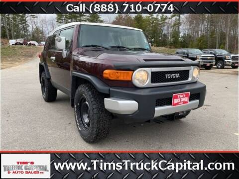 2007 Toyota FJ Cruiser for sale at TTC AUTO OUTLET/TIM'S TRUCK CAPITAL & AUTO SALES INC ANNEX in Epsom NH
