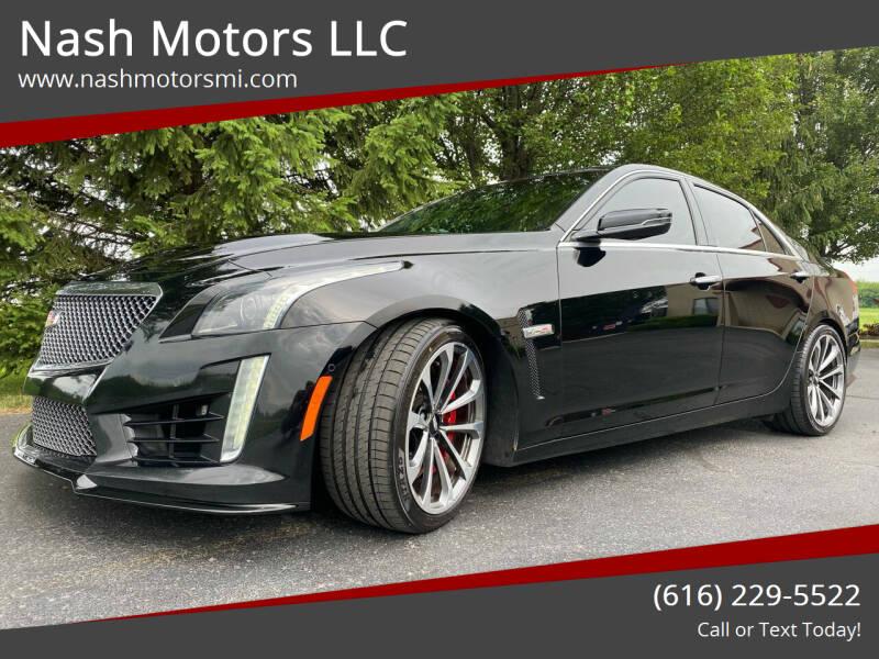 2016 Cadillac CTS-V for sale at Nash Motors LLC in Hudsonville MI