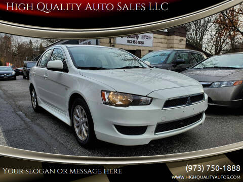2012 Mitsubishi Lancer for sale at High Quality Auto Sales LLC in Bloomingdale NJ