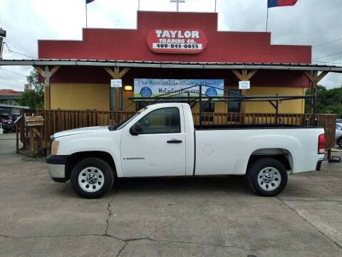 2008 GMC Sierra 1500 for sale at Taylor Trading Co in Beaumont TX