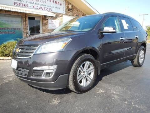 2015 Chevrolet Traverse for sale at Browning's Reliable Cars & Trucks in Wichita Falls TX