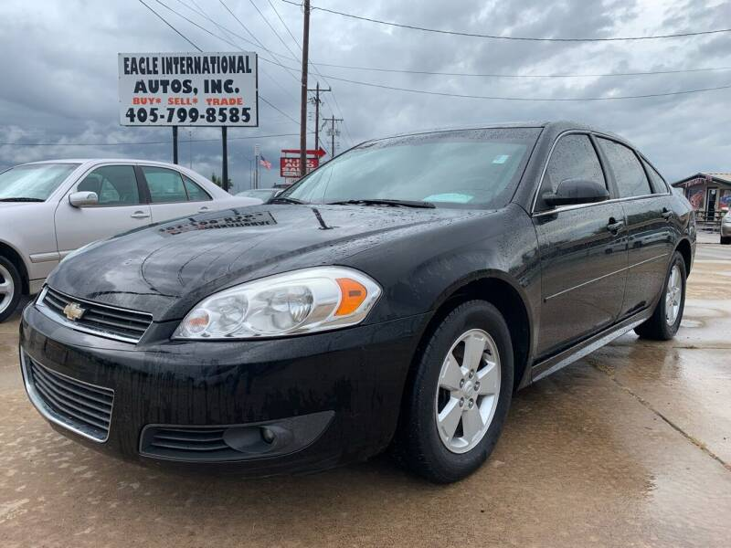 2011 Chevrolet Impala for sale at Eagle International Autos Inc in Moore OK
