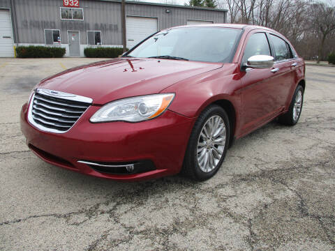 2012 Chrysler 200 for sale at Triangle Auto Sales in Elgin IL