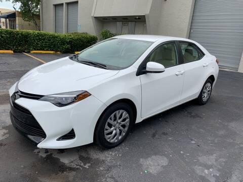 2017 Toyota Corolla for sale at Ven-Usa Autosales Inc in Miami FL