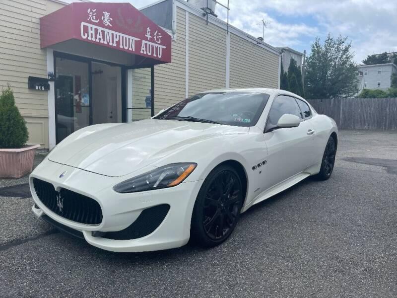 2013 Maserati GranTurismo for sale at Champion Auto LLC in Quincy MA