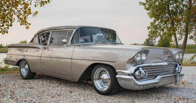 1958 Chevrolet Biscayne for sale at Gary Miller's Classic Auto in El Paso IL