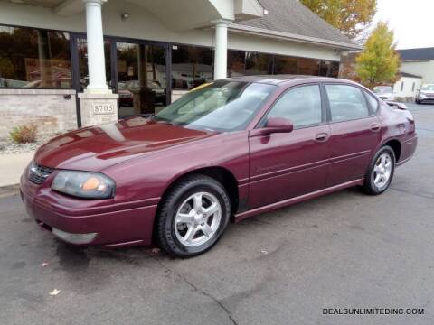 2004 Chevrolet Impala for sale at DEALS UNLIMITED INC in Portage MI
