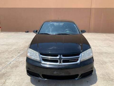 2013 Dodge Avenger for sale at ALL STAR MOTORS INC in Houston TX