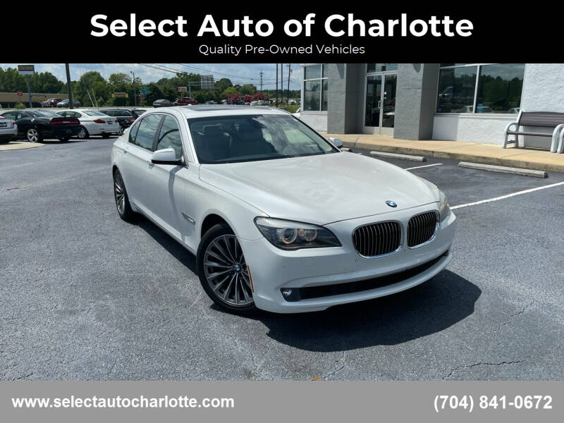2012 BMW 7 Series for sale at Select Auto of Charlotte in Matthews NC