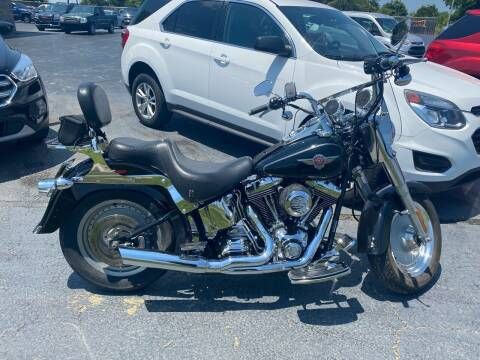 2004 Harley Davidson Fat Boy for sale at CarSmart Auto Group in Orleans IN