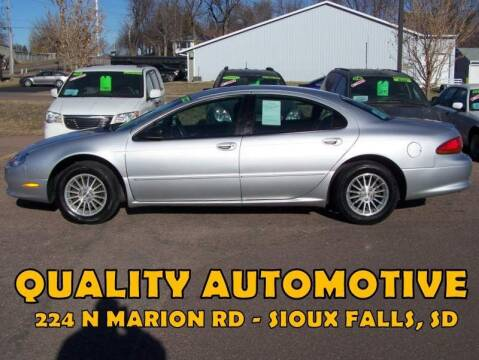 2003 Chrysler Concorde for sale at Quality Automotive in Sioux Falls SD