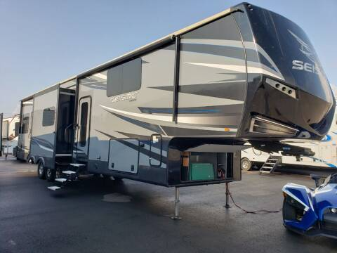 2018 Jayco seismic 4250 for sale at Ultimate RV in White Settlement TX