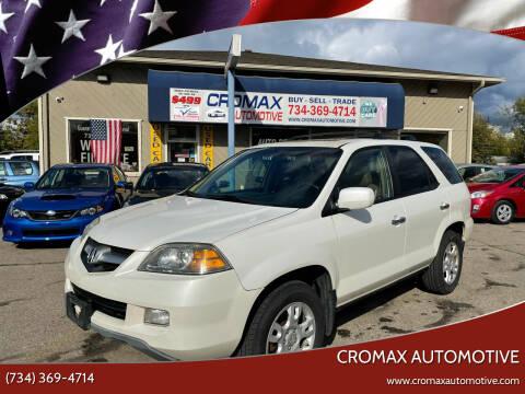 2006 Acura MDX for sale at Cromax Automotive in Ann Arbor MI