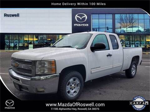 2012 Chevrolet Silverado 1500 for sale at Mazda Of Roswell in Roswell GA