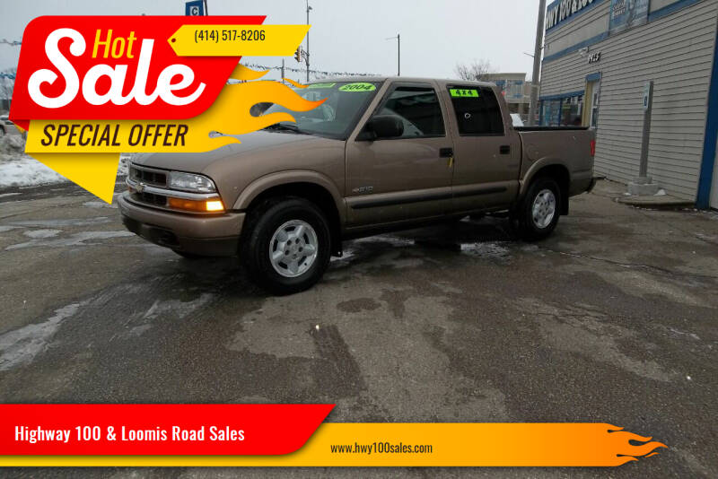 2004 Chevrolet S-10 for sale at Highway 100 & Loomis Road Sales in Franklin WI