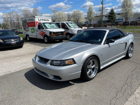 2001 Ford Mustang SVT Cobra for sale at Candlewood Valley Motors in New Milford CT