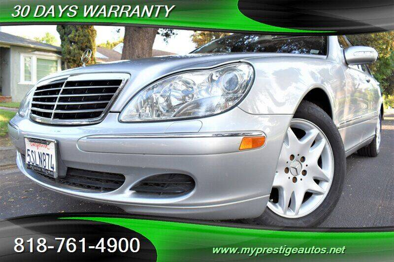 2006 Mercedes-Benz S-Class for sale at Prestige Auto Sports Inc in North Hollywood CA