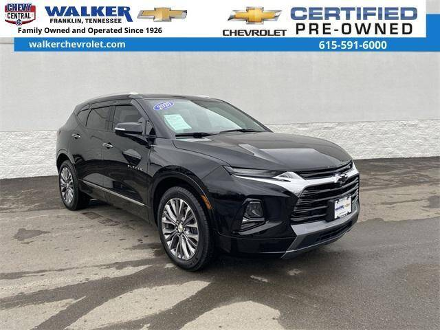 2020 Chevrolet Blazer for sale at WALKER CHEVROLET in Franklin TN