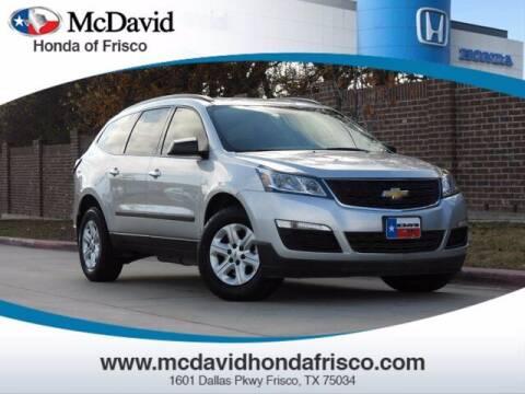 2017 Chevrolet Traverse for sale at DAVID McDAVID HONDA OF IRVING in Irving TX