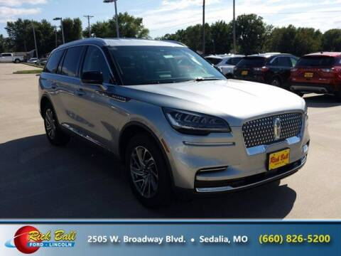 2020 Lincoln Aviator for sale at RICK BALL FORD in Sedalia MO