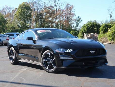 2019 Ford Mustang for sale at Stearns Ford in Burlington NC