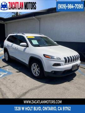 2015 Jeep Cherokee for sale at Ontario Auto Square in Ontario CA
