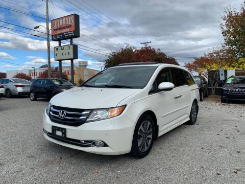 2014 Honda Odyssey for sale at Autohaus of Greensboro in Greensboro NC