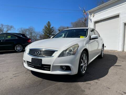 2011 Infiniti G37 Sedan for sale at SOUTH SHORE AUTO GALLERY, INC. in Abington MA
