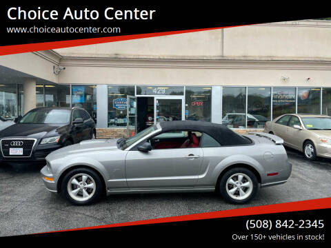 2008 Ford Mustang for sale at Choice Auto Center in Shrewsbury MA