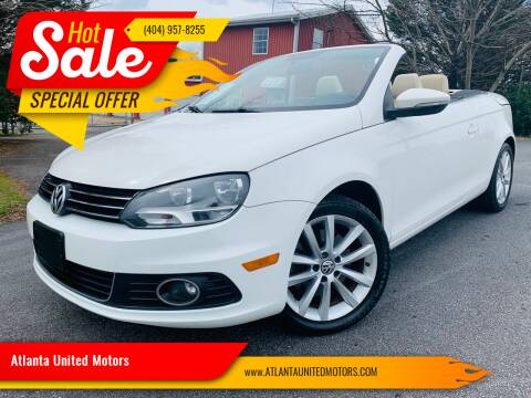 2012 Volkswagen Eos for sale at Atlanta United Motors in Buford GA
