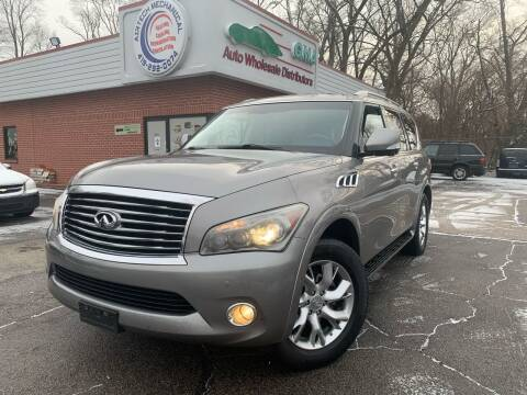 2012 Infiniti QX56 for sale at GMA Automotive Wholesale in Toledo OH