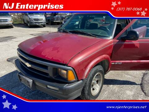 1996 Chevrolet S-10 for sale at NJ Enterprises in Indianapolis IN