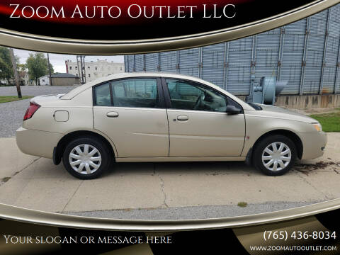 2004 Saturn Ion for sale at Zoom Auto Outlet LLC in Thorntown IN