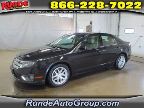2012 Ford Fusion for sale at Runde Chevrolet in East Dubuque IL