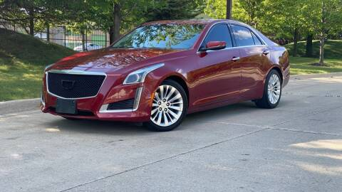 2015 Cadillac CTS for sale at Western Star Auto Sales in Chicago IL