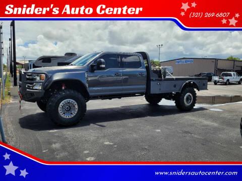 2020 Ford F-550 Super Duty for sale at Snider's Auto Center in Titusville FL