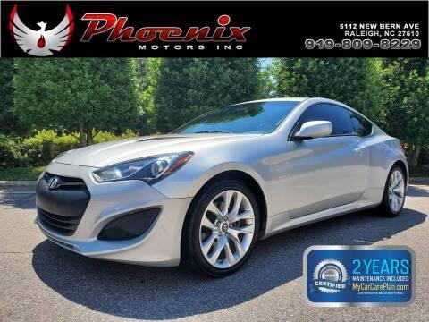2013 Hyundai Genesis Coupe for sale at Phoenix Motors Inc in Raleigh NC