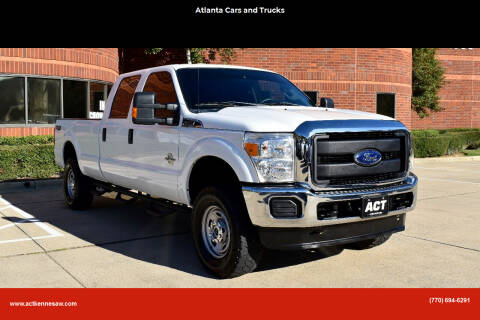 2016 Ford F-250 Super Duty for sale at Atlanta Cars and Trucks in Kennesaw GA
