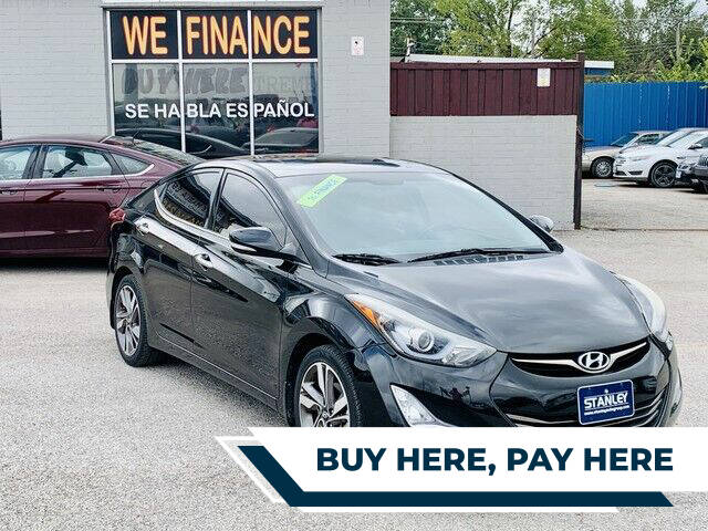 2014 Hyundai Elantra for sale at Stanley Direct Auto in Mesquite TX