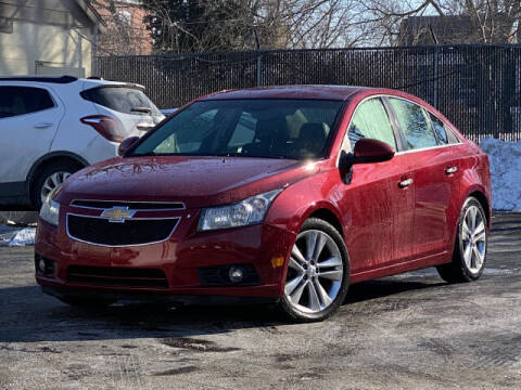 2012 Chevrolet Cruze for sale at Kugman Motors in Saint Louis MO