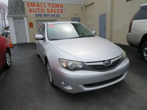 2010 Subaru Impreza for sale at Small Town Auto Sales in Hazleton PA