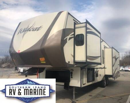 2018 Forest River WILDCAT 32WB for sale at SOUTHERN IDAHO RV AND MARINE in Jerome ID
