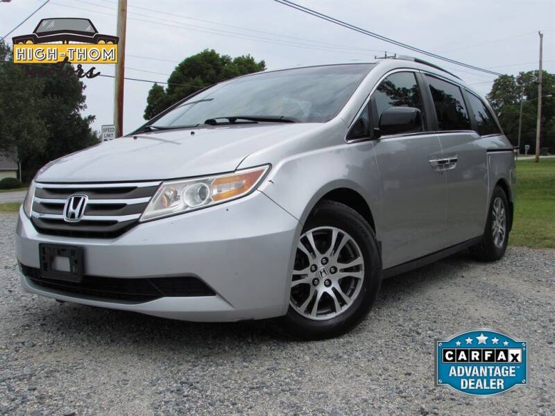 2012 Honda Odyssey for sale at High-Thom Motors in Thomasville NC