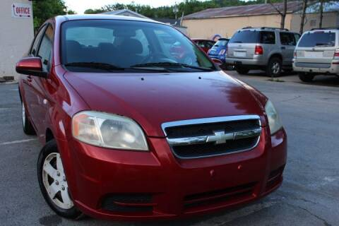 2007 Chevrolet Aveo for sale at SAI Auto Sales - Used Cars in Johnson City TN