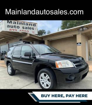 2007 Mitsubishi Endeavor for sale at Mainland Auto Sales Inc in Daytona Beach FL