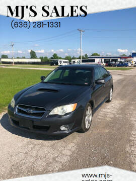 2008 Subaru Legacy for sale at MJ'S Sales in Foristell MO