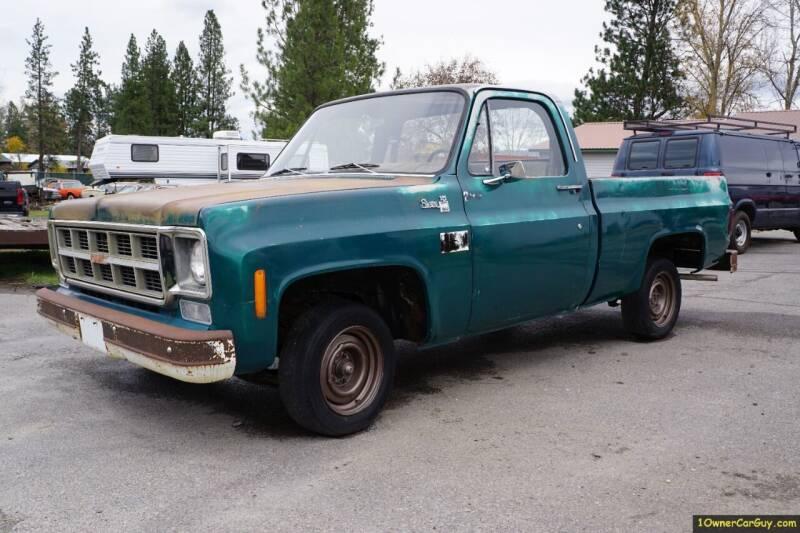 1978 Chevrolet C/K 10 Series for sale at 1 Owner Car Guy in Stevensville MT