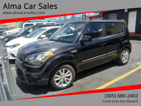 2013 Kia Soul for sale at Alma Car Sales in Miami FL
